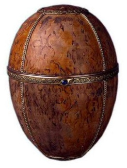 Karelian Birch Egg - 1917