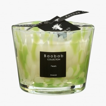Baobab Collection - Bougie Pearls Emeraude - Le bon marché - 65 €