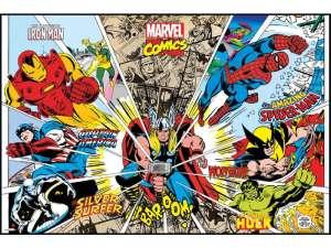 Cadre Marvel Comics - Conforama - 39,90 €