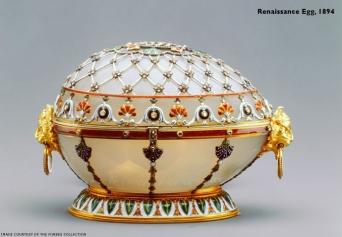 Renaissance Egg - 1893 - Dernière commande du Tsar Alexandre III