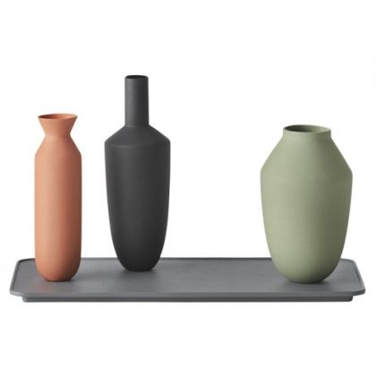 SET plateau et 3 vases balance Muuto