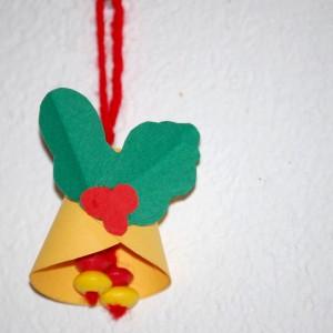 Cloche de Noël en papier.