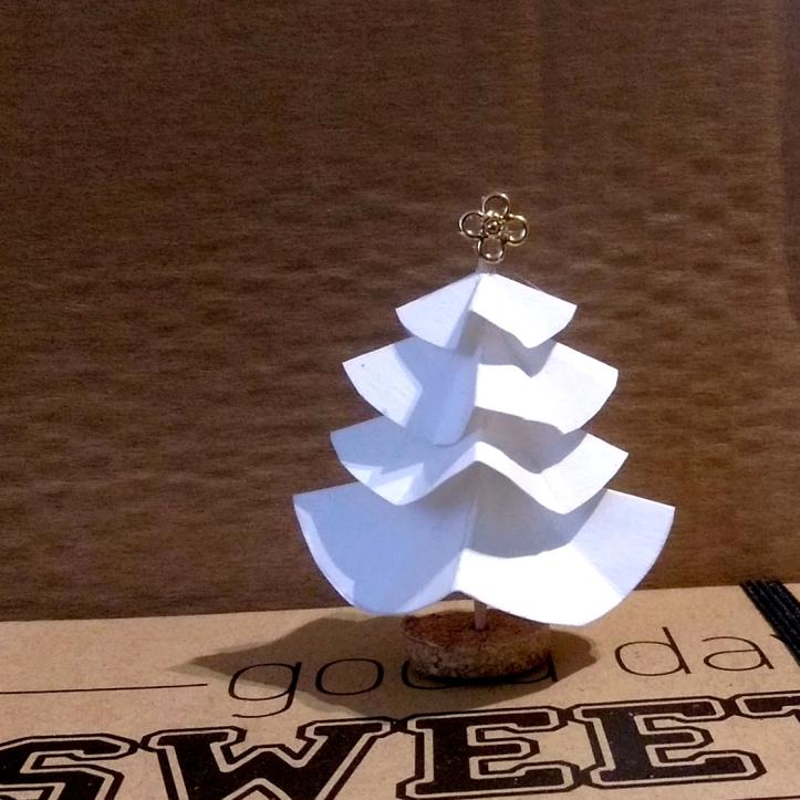 DIY : mini-sapin pour déco de Noël