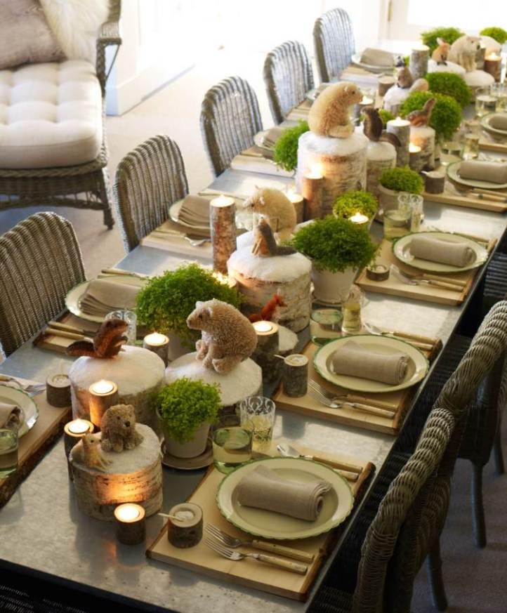 Joli et imaginatif... mais imaginons-nous en train de manger et c'est le drame !